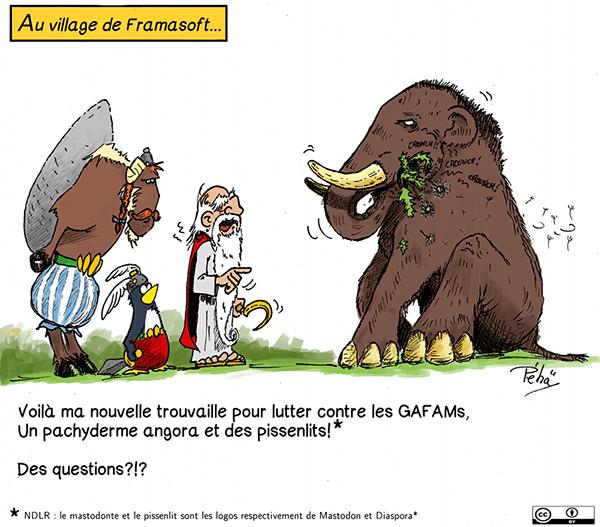 Framasphere et Framapiaf