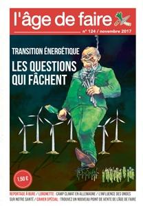 Transition énergétique - Les questions qui fâchent