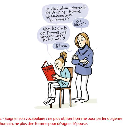 1 – Grammaire non sexiste