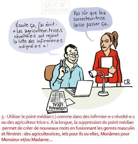 5 – Grammaire non sexiste